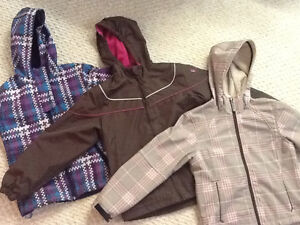 Girls size 10 fall/spring jackets