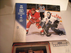 Collection of Maple Leaf Magazines, Calendars, Yearbooks. Peterborough Peterborough Area image 8