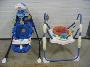 EXERCISEUR SAUTOIR JUMPEROO,BALANÇOIRE AQUARIUM MUSICAL 6VITESSE