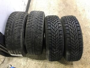 4 winter tires with original Honda Civic 2012 and up steel rims
