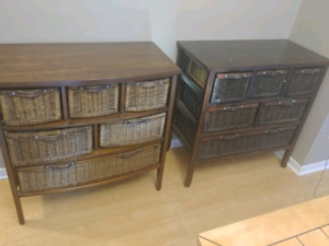 Wicker Drawers -SOLD