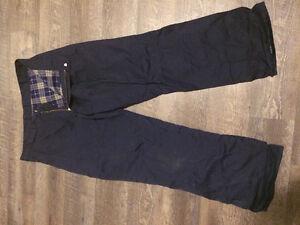 Mens fleece lined work pants.