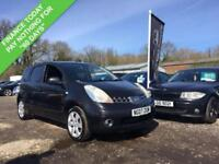 2007 07 NISSAN NOTE 1.6 SVE 5DR 109 BHP