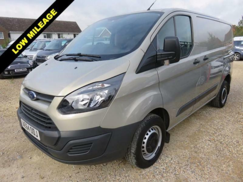 2014 64 FORD TRANSIT CUSTOM 2.2 TDCI 270 SWB LOW ROOF 100 BHP 22327 MILES ONLY D