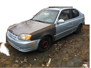 Parting Out 2004 Hyundai Accent