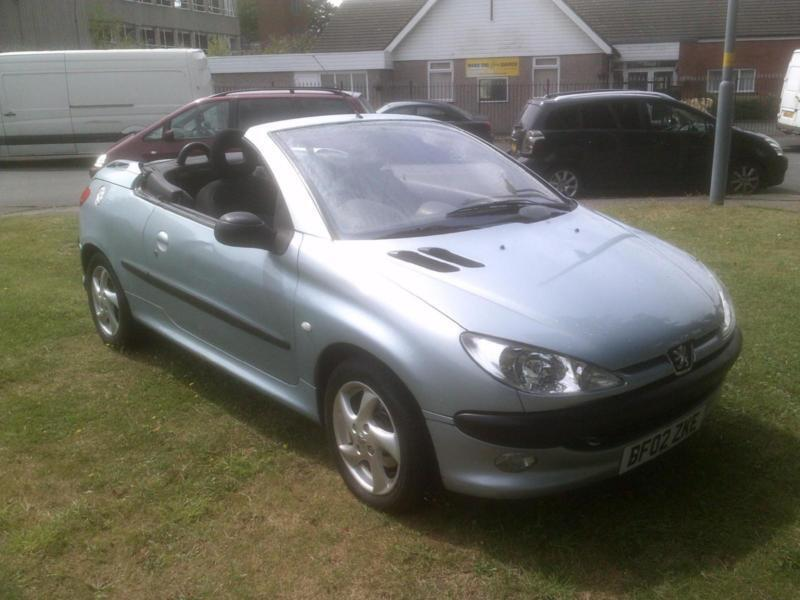 Peugeot 206 1.6 2002MY Coupe Cabriolet S