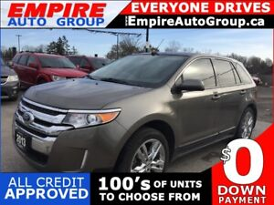 2013 FORD EDGE SEL * ECOBOOST * LEATHER * NAV * REAR CAM * PANO