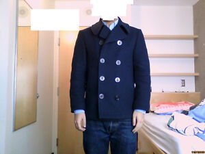 Sterlingwear Boston Classic Peacoat - 40R