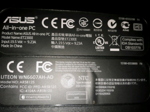 AC ADAPTER WANTED FOR ASUS ET2300 PC