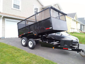 (((( REDUCED )))))Brand New Dump Trailers 10000 Pounds 7x12