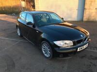 2005 BMW 118 2.0TD Diesel ES 5 Door Jet Black Metallic