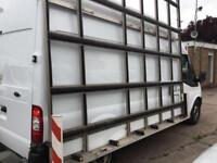 2014 14 FORD TRANSIT 2.2TDCI T350 LWB HIGH ROOF. GLASS WINDOW FRAIL RACK CARRIER