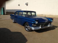 1957 Ford 4 Door Sedan Custom