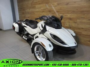2011 Can-Am Spyder RS-S SE5 66,01$/SEMAINE