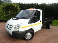 2012 Ford Transit T350 2.2TDCi LWB SINGLE CAB TIPPER