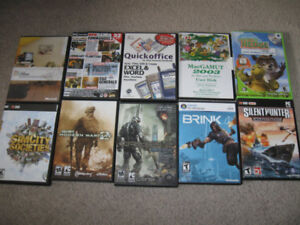 PC Games and few other items-$5 each