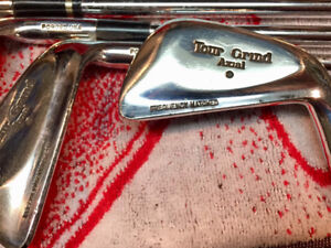 PRICE DROPPED Vintage Rare RH Forged Ram Tour Grind golf irons