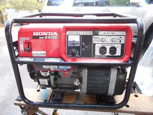 Honda Gas Generator EM2500