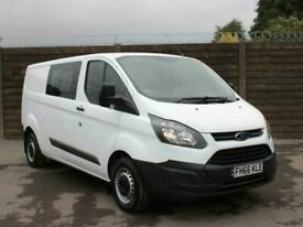 2017 Ford Transit Custom 2.0 TDCi 130ps Low Roof Double Cab Long Wheelbase L2H1