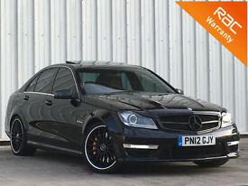Mercedes-Benz C63 AMG 6.3 ( 457bhp ) MCT 7S 2012MY AMG FINANCE AVAILABLE