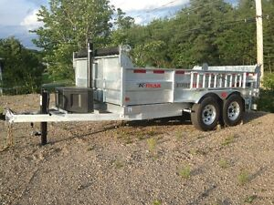 2016 GALVANIZED DUMP, AND DECK TRAILERS