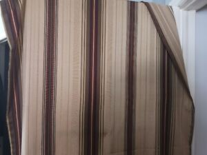 4 Panels of Curtains