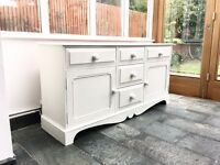 Farmhouse Solid Pine Shabby Chic Sideboard