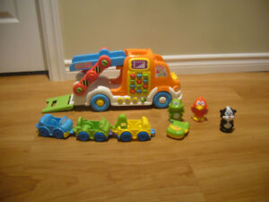V-tech Car Carrier Truck Baby Toy