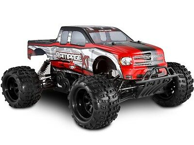 REDCAT Rampage XT 1/5 Scale Gas 2.4GHz Remote Control 4WD Monster Truck -