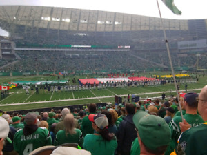 Riders vs Stamps