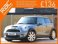 2007 MINI Hatch 1.6 S 175 PS 6 Speed Pan Roof Full Leather Chili Pack Bi-Xenon A