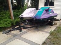 Seadoo and trailer package