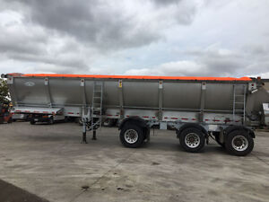 Live bottom 3-axle trailer