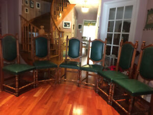 Antiques dining chairs(6)