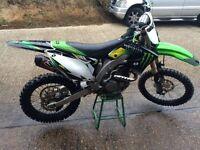 Kawasaki kxf 450 2010 efi not yzf rmz crf sxf