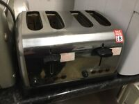 Stainless cookworks 4 slice toaster