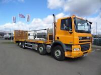 2012 (61) DAF TRUCKS FAX CF85.410 8X2 BEAVERTAIL PLANT TRUCK