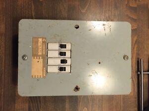 Panneau électrique commander