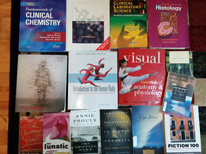 Science, English, French books