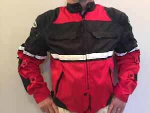 2 Motorcycle Jackets male and female