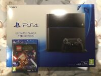 Brand New Sealed 1TB Ultimate Player Edition PS4 + Lego Star Wars Game £250