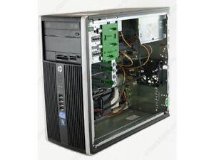 HP 6300 PRO TOWER i5 QUAD CORE -8GB-250GB Win 10 64bit
