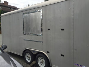 20' pace American cargo trailer
