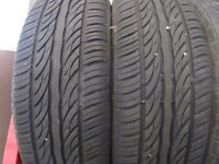 2 nearly new 195 70 R14 All Season Radial Tires