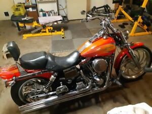 "1996 Harley Davidson Wide Glide ""lots of cool parts"""