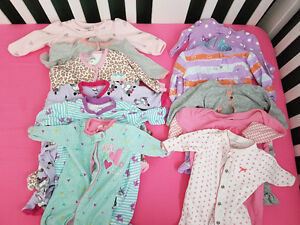 Baby Girl clothes NB and 0-3 months