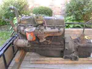 1950 chev truck motor and tranny