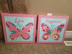 Butterfly Art/Room Decor