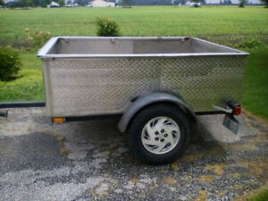 STAINLESS STEEL BOX TRAILER ------ REDUCED !!!!!