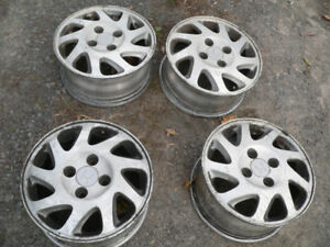 4 mags de Honda accord 15""